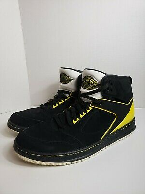 free shipping e8b66 8a83e Jordan Sixty Club 60 Nike Air Black Speed Yellow Mens Size 12 535790-050