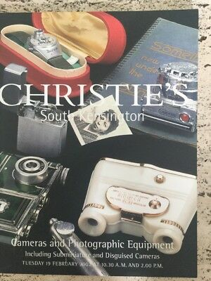 Christie's Camera Catelogues X10