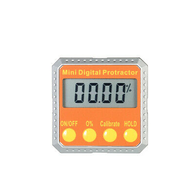 360° Mini Digital LCD Protractor Angle Finder Level Gauge Meter Tester Tool C1J6