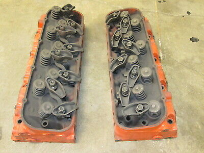 1966 CHEVY BIG block 396 or 427 heads oval port 3872702