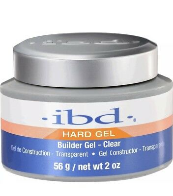 ibd Hard Gel Builder Gel Clear 56g 2oz #60402