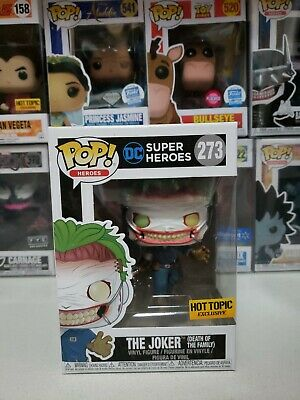 Funko Pop DC #  273 - JOKER DEATH IN THE FAMILY - Hot Topic Exclusive