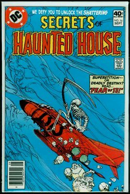 DC Comics Secrets Of HAUNTED HOUSE #16 FN 6.0