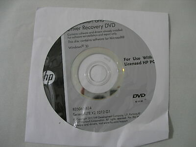 HP APPLICATION AND Driver Recovery DVD Windows 7 P/N: 767614