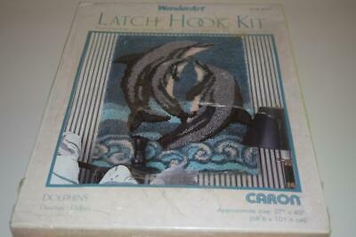 Caron Wonderart Dolphins Latch Hook Kit New