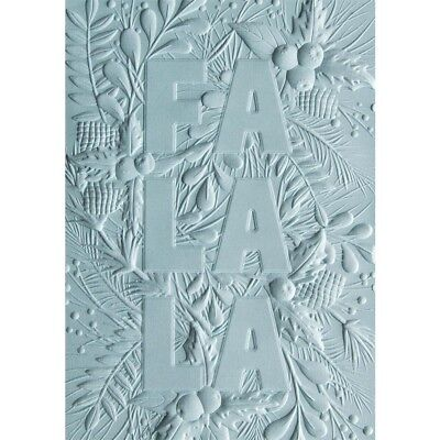Sizzix 3D Textured Impressions Embossing Folder By Courtney - Fa La La