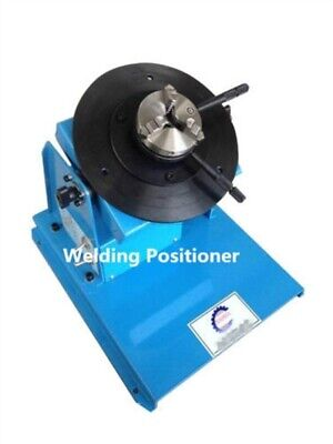 New 110/220V With 80Mm Chuck Light Duty Welding Turntable Positioner 2-18RPM uh