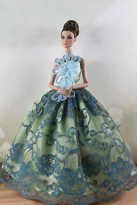 Fashion Princess Party Dress/Evening Clothes/Gown For 11.5 inch Doll a03