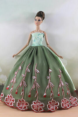 Fashion Princess Party Dress/Evening Clothes/Gown For 11.5 inch Doll a08