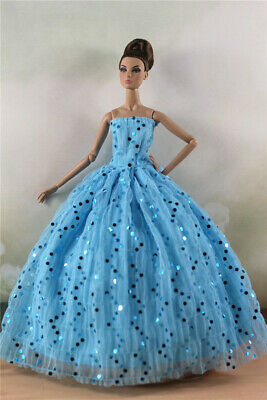 Fashion Princess Party Dress/Evening Clothes/Gown For 11.5 inch Doll a09
