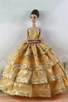 Fashion Princess Party Dress/Evening Clothes/Gown For 11.5 inch Doll a13