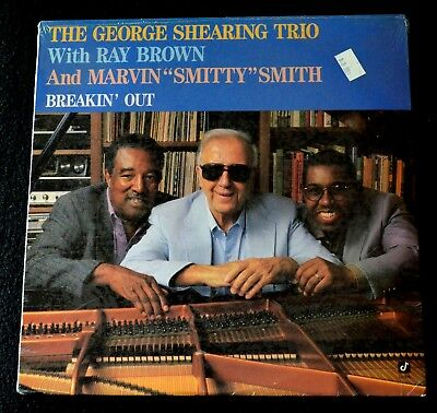 The George Shearing Rtrio W/ray Brown & Marvin Smith-Breakin Out-Jazz-Sealed Lp