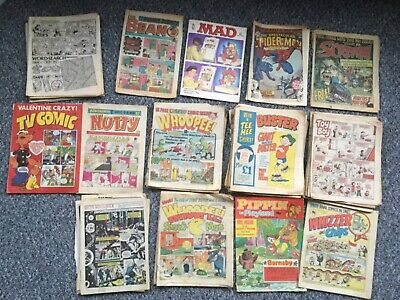 Mixed Bag Of Retro Comics From 70S 80S