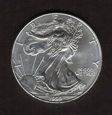 1999 American Eagle Silver Dollar--  Very nice Uncirculated Condition!!!!