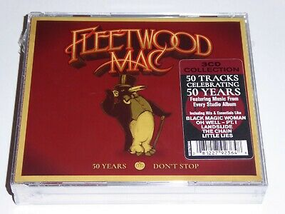Fleetwood Mac - 50 Years: Don't Stop - NEW / SEALED GENUINE 3-Disc CD ALBUM SET