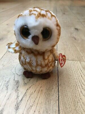 8848c0faecc Swoops TY Beanie Boo plush owl toy small