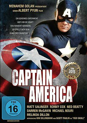 Marvel - Captain America - DVD / Blu-ray - *NEU*