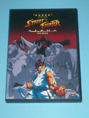 STREET FIGHTER ALPHA: THE MOVIE - ANIME DVD - Canadian seller