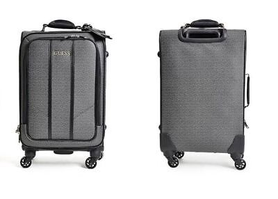 """GUESS NWT 4 Wheel 20"""" Roller Spinner Suitcase Travel Beautiful Luggage"""
