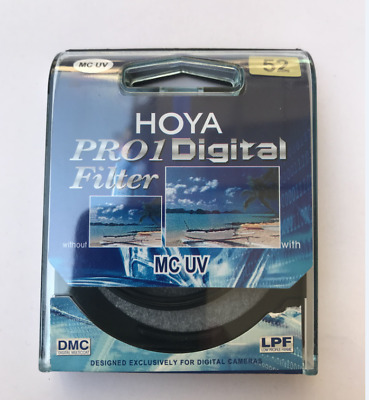 NEW Hoya 52mm Pro1 Digital  DMC LPF Filter  UV Multicoated Pro 1D ~ Genuine