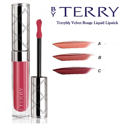 By TERRY TERRIBLY VELVET ROSSETTO LIQUIDO TINTA LABBRA LIP TINT LIQUID LIPSTICK