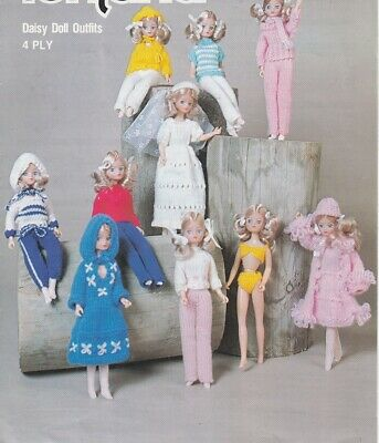 BARBIE Doll Knitting Patterns 4 Ply copy Knitting Patterns
