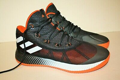 the best attitude 27d32 d5ce4 adidas Mens 12 Energy Bounce BB Black  Orange Basketball Athletic Shoes