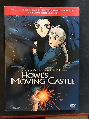 Howl's Moving Castle [New DVD] Widescreen. W~ Slipcover Free Shipping