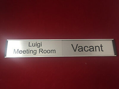 Office Sign  In./Out Door (Sliding)
