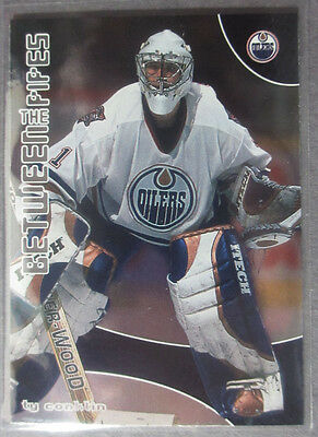 2001-02 Between The Pipes #82 Ty Conklin Edmonton Oilers RC