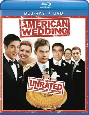 BLU-RAY American Wedding (Unrated & Theatrical)(Blu-Ray +DVD) NEW
