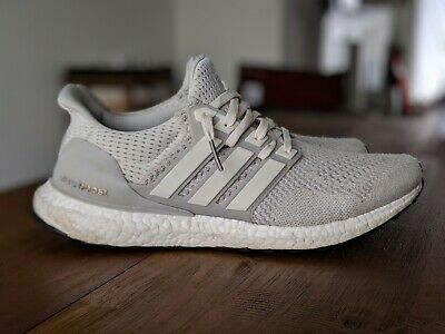 e19c9284ac7 Adidas Ultra Boost 1.0 LTD Cream Chalk AQ5559 UltraBoost Size 10.5 2016