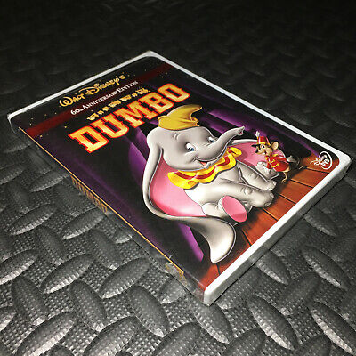 Dumbo Dvd 2001 60Th Anniversary Edition New/sealed Rare Walt Disney L@@k! W@w!