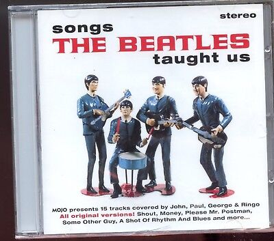 Mojo Magazine CD / November 2015 - Songs The Beatles Taught Us - New & Sealed