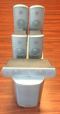 Panasonic Home Theater Surround Sound System, Five Speakers, One Subwoofer