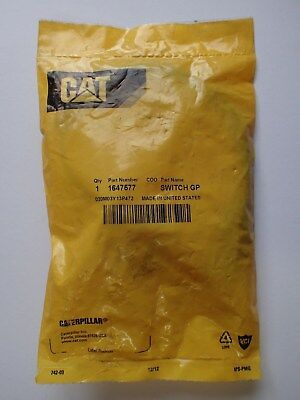 Caterpillar Oil Filter Bypass Switch Gp Oem Genuine Part# 1647577 Ship+ Tracking