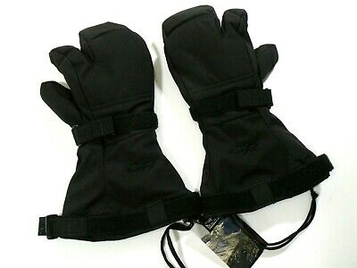NEW OR OUTDOOR RESEARCH MUTANT MITTENS GORETEX XL W// INSERT EXTREME COLD WEATHER