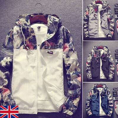 Harrington Jacket Mens Classic Retro Scooter Vintage Bomber Mod Coat Top