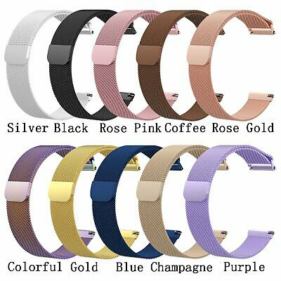 Stainless Steel Milanese Magnetic Loop Wristband Strap for Fitbit Versa Watch