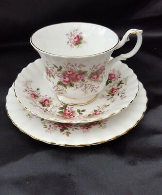 Royal Albert LAVENDER ROSE   TRIO OF CUP, SAUCER AND TEA PLATE  x 1