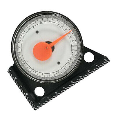 Plastic Angle Locator Angle Finder Level Hand Tool Dial Gauge Magnetic