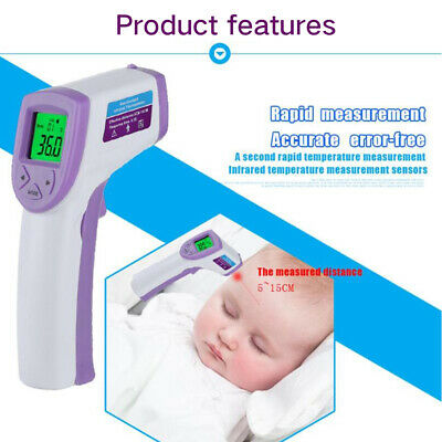 Digital LCD Thermometer Medical Baby Adult Electronic Infrared Body Temperature
