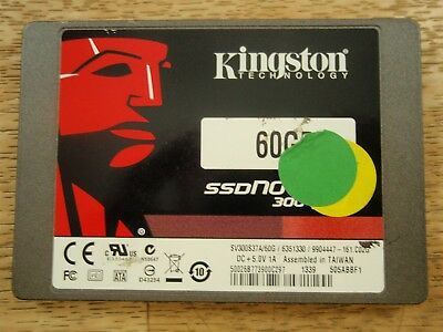 """SV300S37A/60G Kingston 60GB 2.5"""" SATA III High Speed Solid State Drive SSD"""