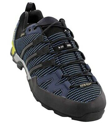 detailed look daae4 98ab0 Adidas BB0785 Terrex Scope GTX Blue Black Navy Mens Hiking Shoes