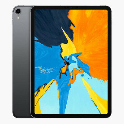 "Apple iPad Pro 11"" - 2018 - WiFi - 256GB - Space Grau - NEU OVP MTXQ2FD/A"