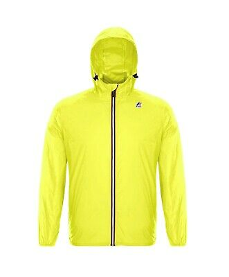 Giubbino K-Way uomo le vrai 3.0 claude yellow fluo ss19