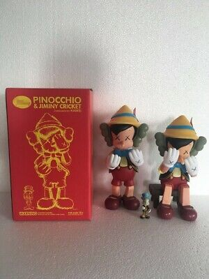 Pinocchio KAWS Dissected Companion 10inch Standing 8inch Sitting Action Figure