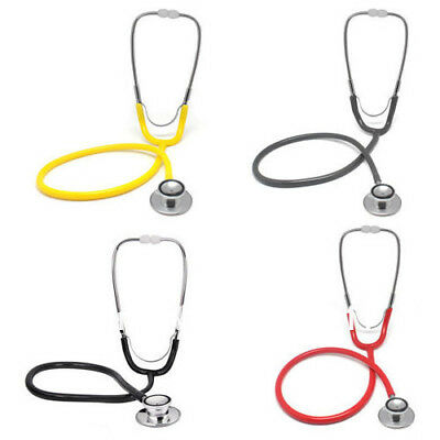 NEW EMT Clinical Stethoscope Medical Auscultation Device Double Head