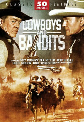 Cowboys and Bandits: 50 Movies (DVD, 2011, 12-Disc Set) - Brand New