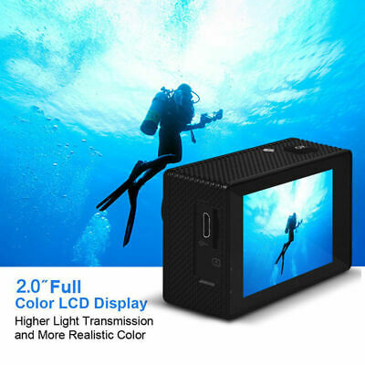 4K Full HD 1080P Waterproof Sport Camera DVR WiFi Action Cam Camcorder SJ7000